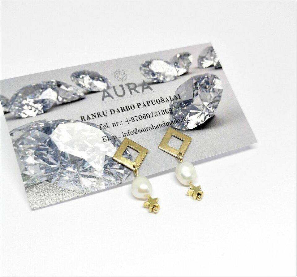 Rinkinys su gėlavandeniais perlais
