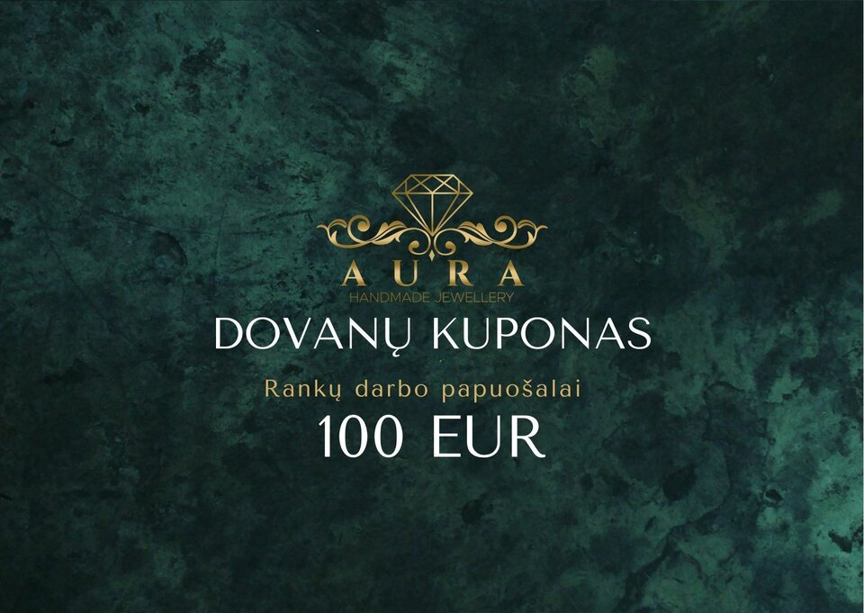 100 eur dovanų čekis